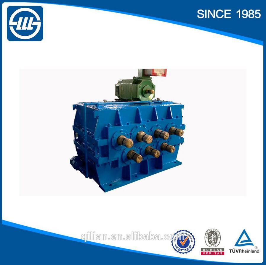 Nonstandard multy-shaft high power gearbox